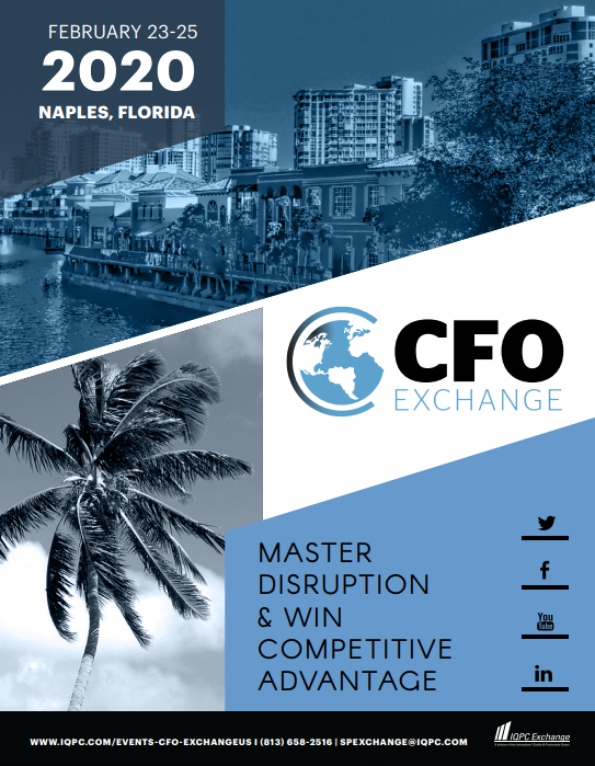 View the 13th CFO Exchange Agenda