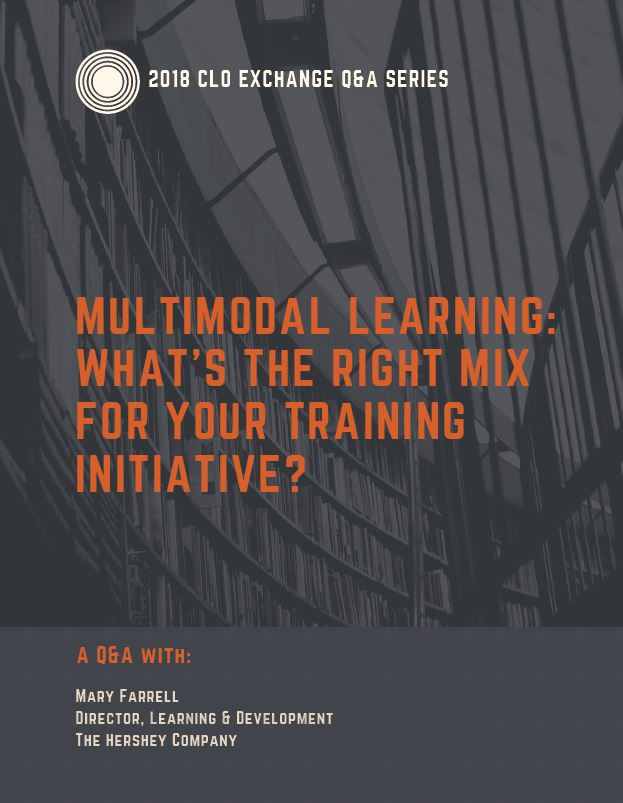 Q&A with Hershey's Director of Learning & Development: Multimodal Learning: What's the Right Mix for Your Training Initiative?
