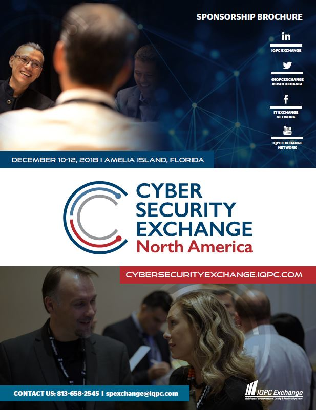 2018 Cyber Security Sponsorship Brochure