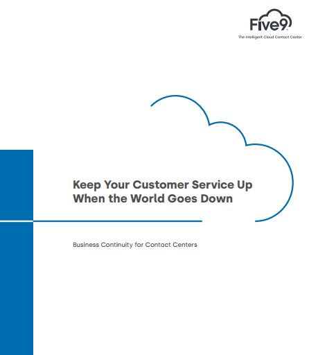 Keep your customer service up when the world goes down