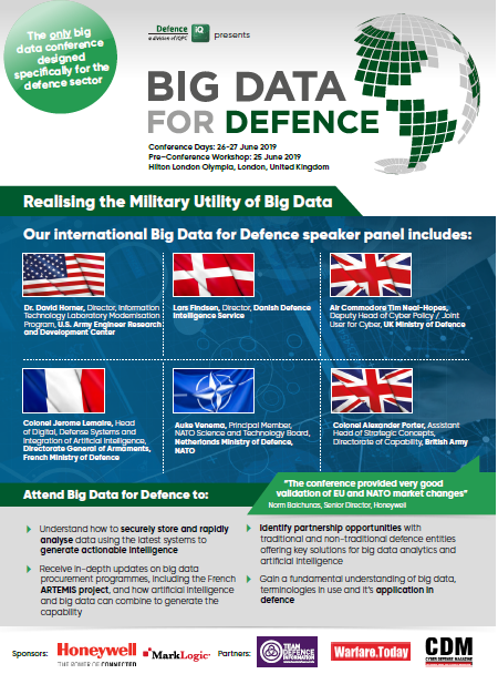 Download the Event Guide l Big Data for Defence Summit