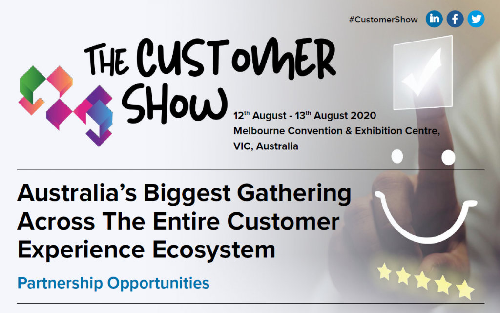 The Customer Show Partnership Opportunities Brochure