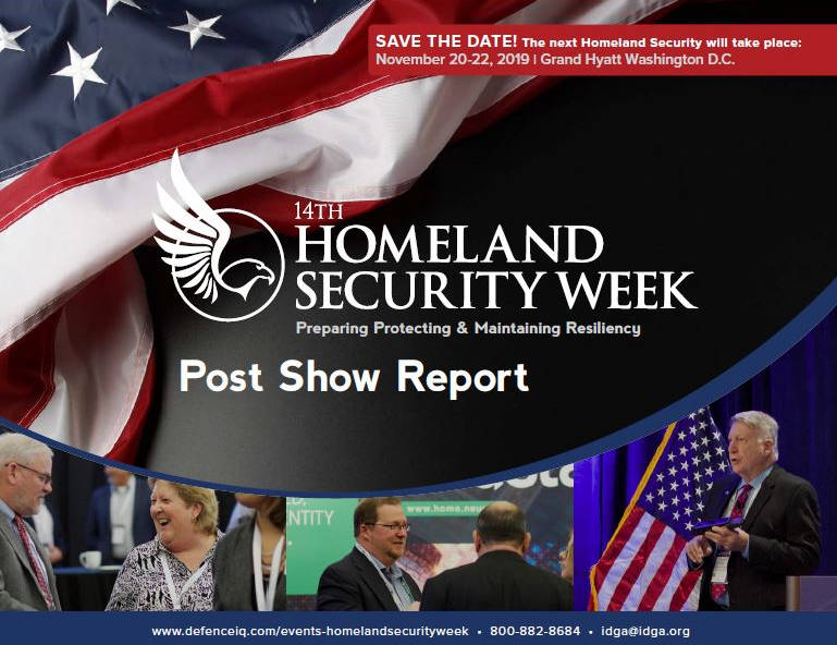 Homeland Security Week 2019 Post Show Report
