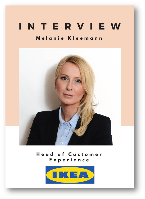 Interview with Melanie Kleemann, Head of Customer Experience at IKEA