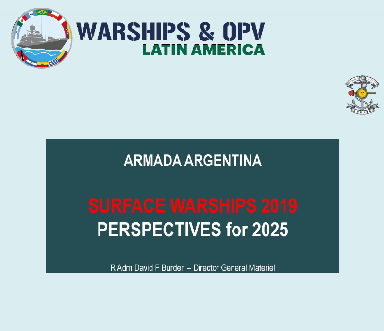 Anticipated renewal of the Argentine surface fleet: Vision for 2025