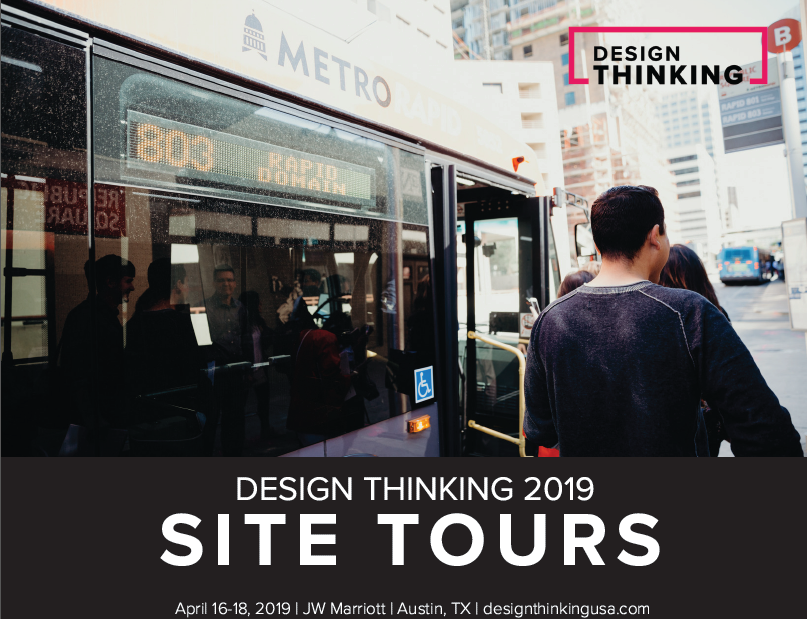 Design Thinking Site Tours 2019