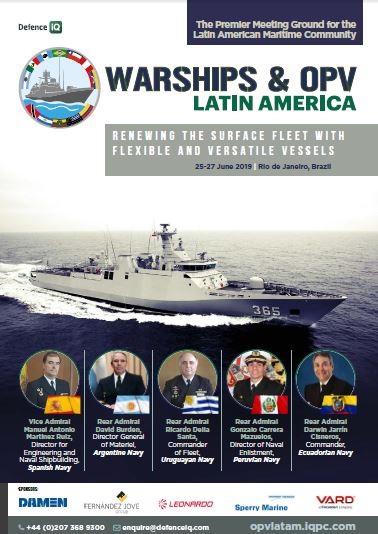 View the Warships & OPV Latin America Event Guide
