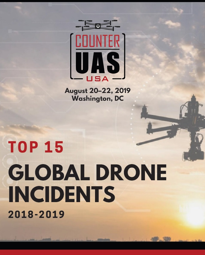 Top 15 Global Drone Incidents 2018-19