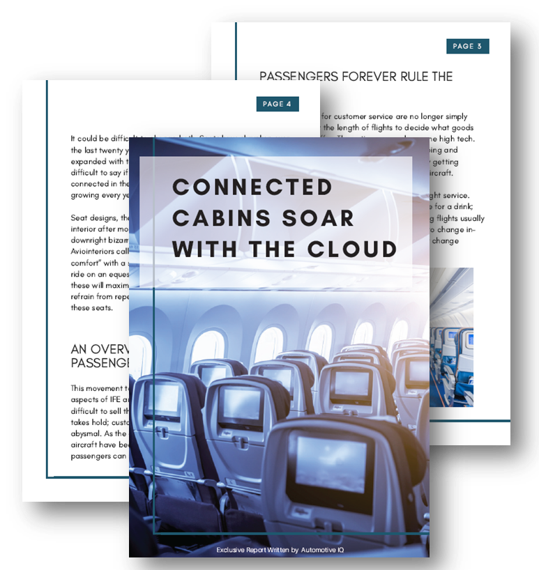 Connected cabins soar with the cloud