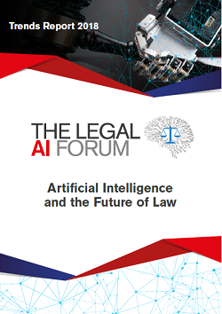 Trends Report 2018: Artificial Intelligence and the Future of Law