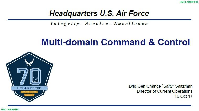 Multi-Domain Command & Control