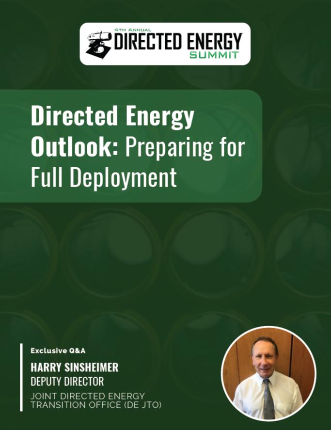 Directed Energy Outlook: Preparing for Full Deployment