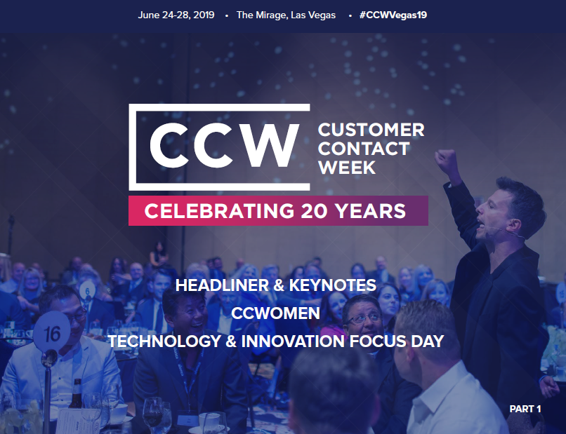 CCW Vegas 2019-Early Event Info