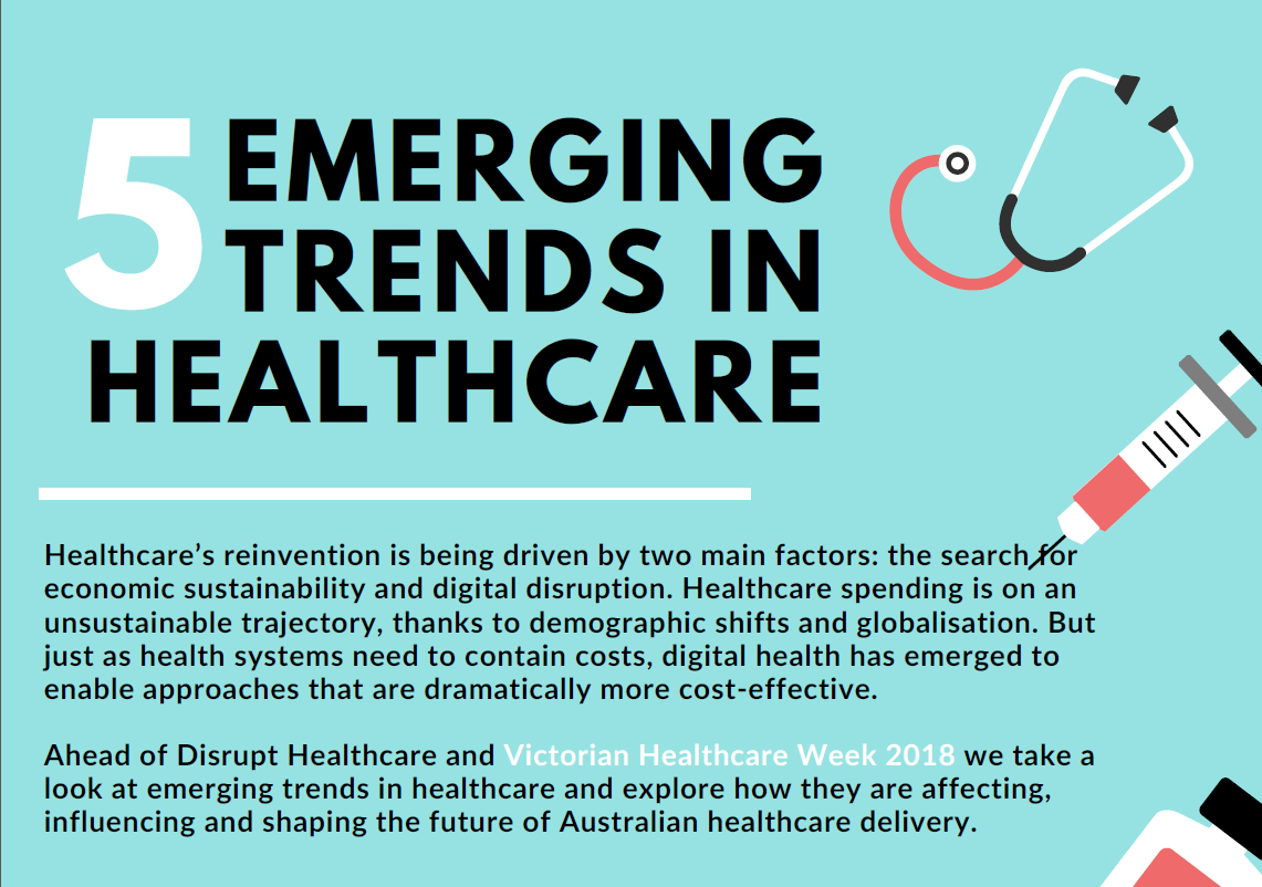 5 Emerging Trends in Healthcare & How They're Shaping the Future of Care Delivery