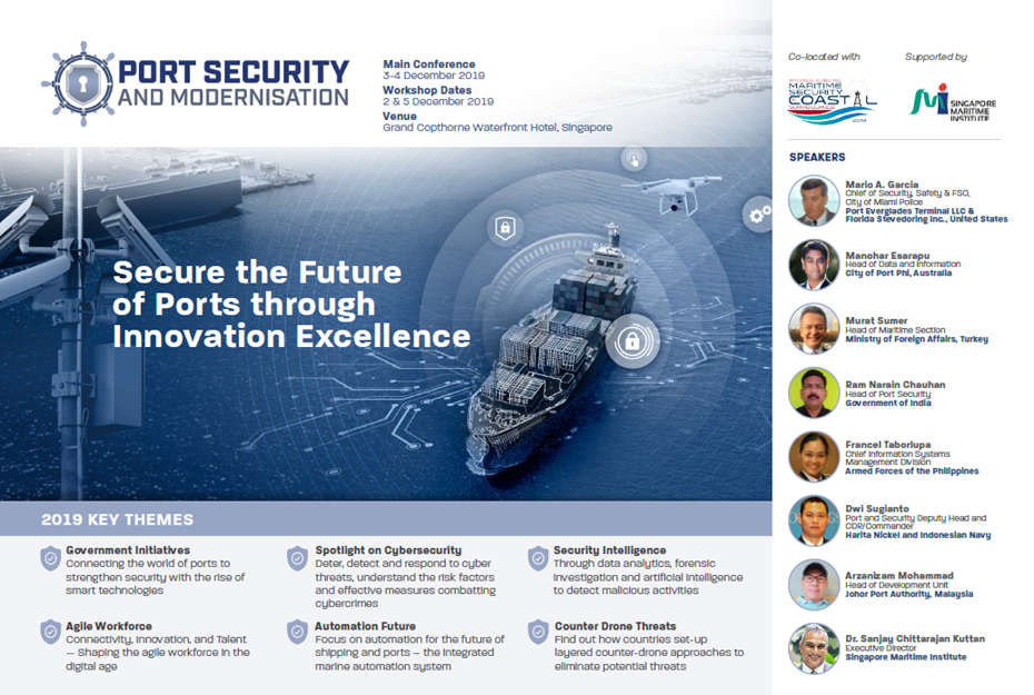 View the Full Event Outline for Ports Security and Modernisation Asia Summit 2019