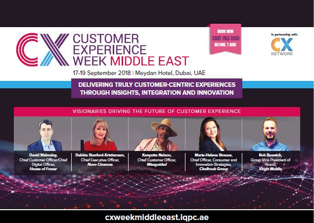 View the full event outline - Customer Experience Week Middle East