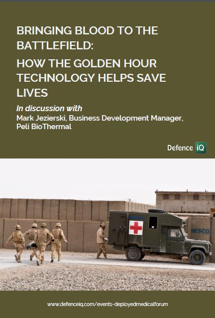 Bringing blood to the battlefield: How the Golden Hour technology helps save lives