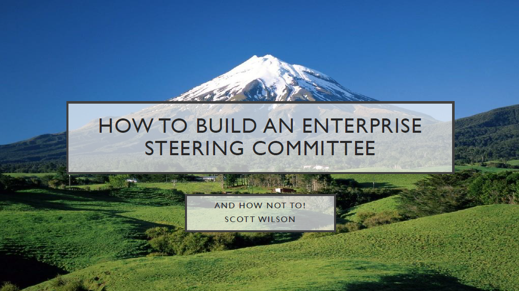 How to Build an Enterprise CX Steering Committee