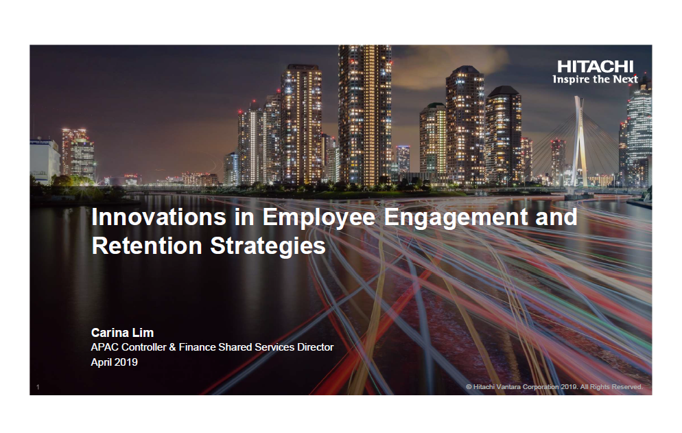 Read the Past Presentation - Innovations in Employee Engagement and Retention Strategies