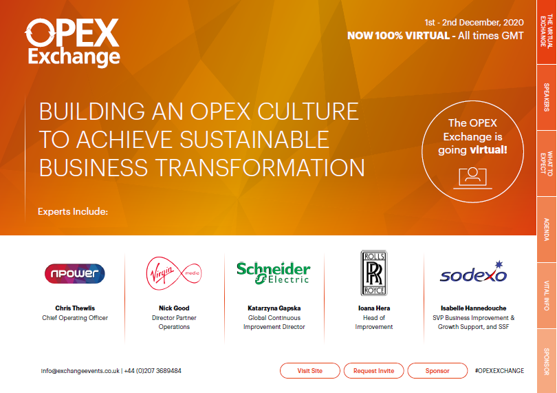 OPEX Exchange Agenda Europe 2020