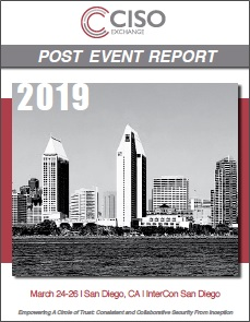 2019 CISO Exchange March Post Event Report