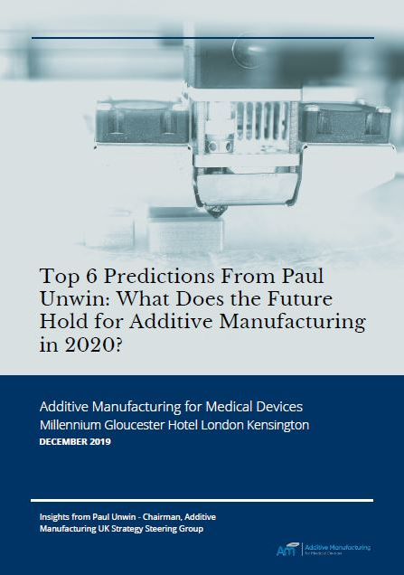 What does the Future Hold for Additive Manufacturing in 2020?