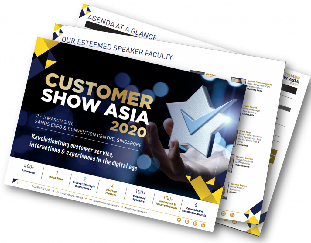 The Customer Show Asia - Brochure