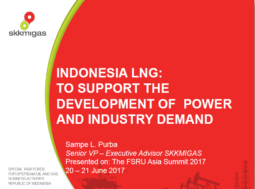 Indonesia LNG: To Support the Development of Power and Industry Demand