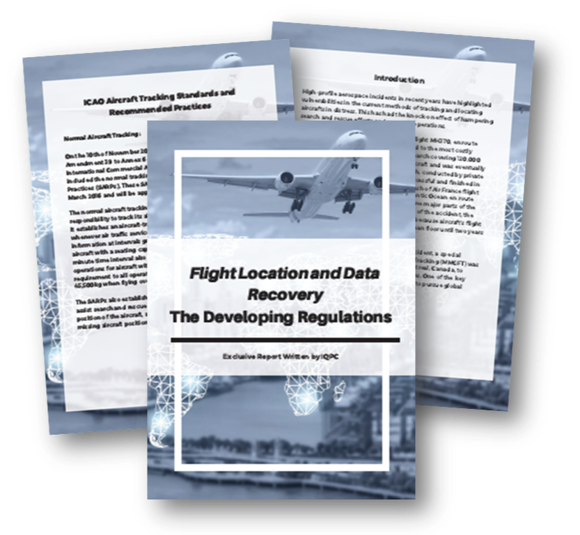 The Developing Regulations of Flight Location and Data Recovery