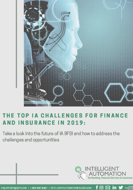 The Top IA Challenges for Finance and Insurance in 2019
