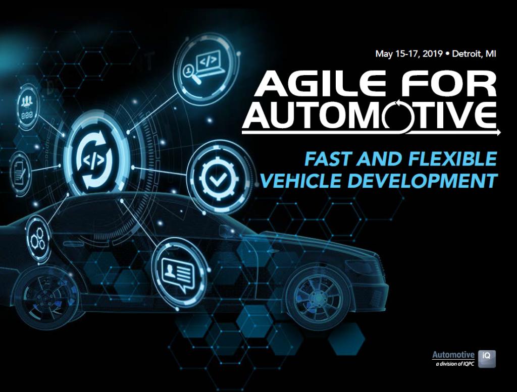 Download the Agile for Automotive Preliminary Agenda