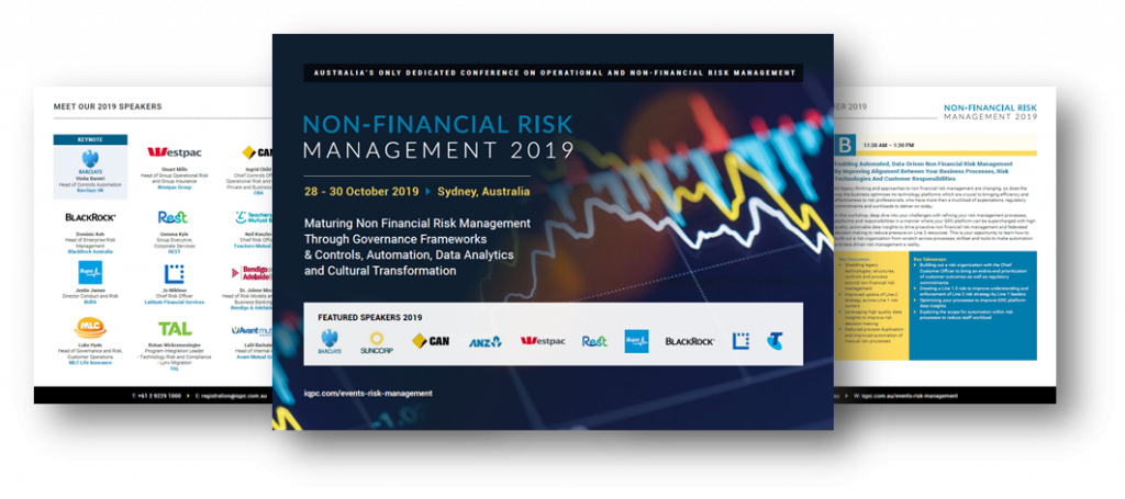 View Event Guide 2019 - Non-Financial Risk Management Summit