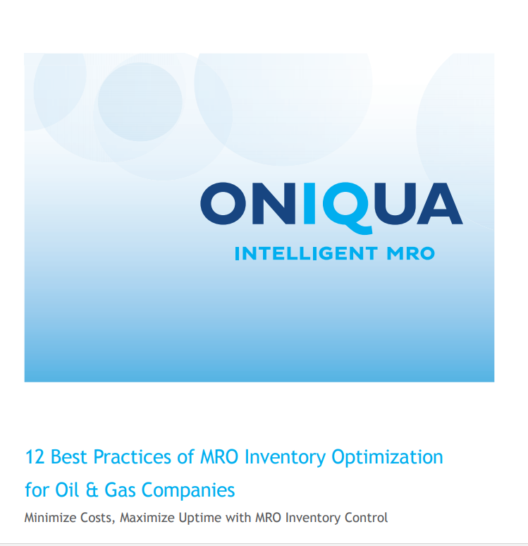 12 Best Practices of MRO Inventory Optimization for Oil & Gas Companies