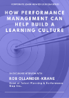 New Q&A: How Performance Management Can Help Build a Learning Culture
