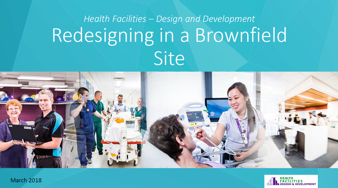 Redesigning in a Brownfield Site – Establishing the Interface between Digital Hospitals and Models of Care