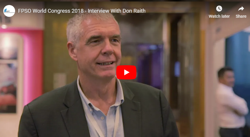 FPSO World Congress 2018 - Interview With Don Raith From Verum Solutions