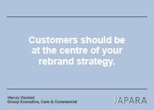 Japara Case Study: Customers Should Be At the Centre of Your Rebrand Strategy