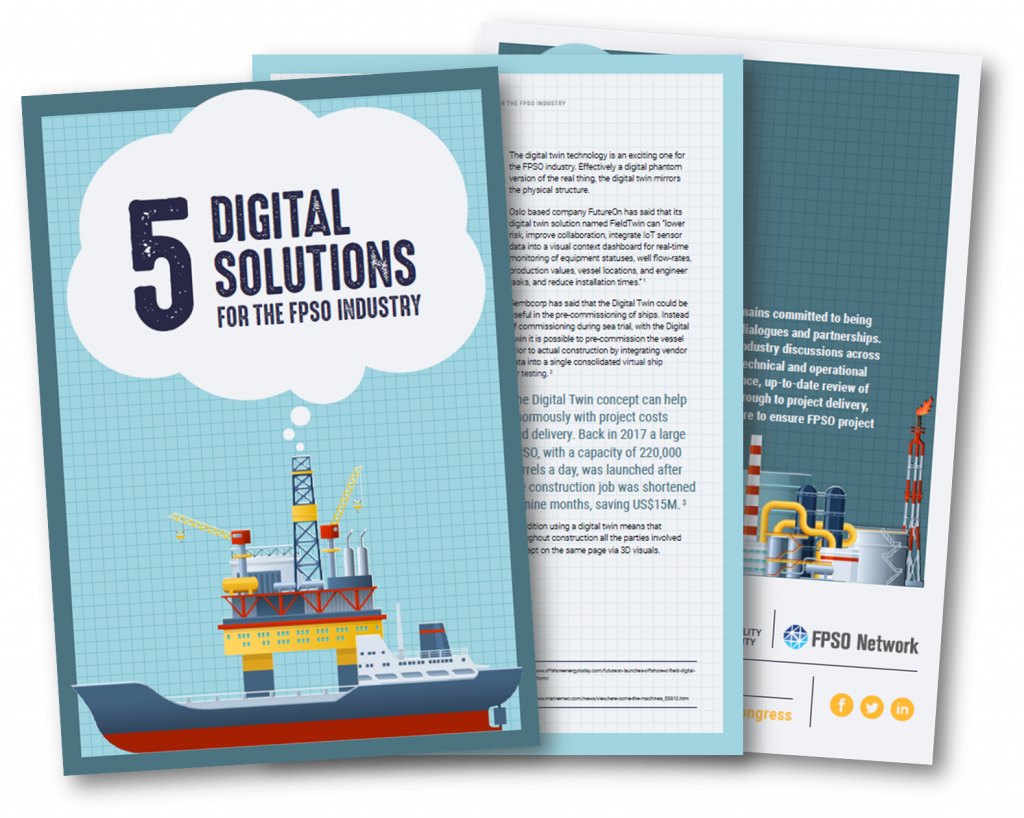 What are the key digital solutions for the FPSO industry?