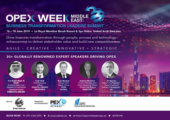 Full Brochure - OPEX Week Middle East: Business Transformation Leaders Summit