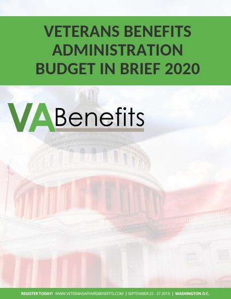 VA Benefits 2020 Budget in Brief