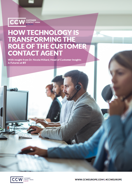 How Technology is Transforming the Role of the Customer Contact Agent