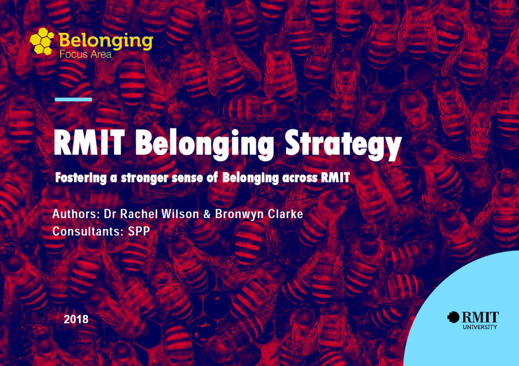 Design and Implementation of the RMIT Belonging Strategy