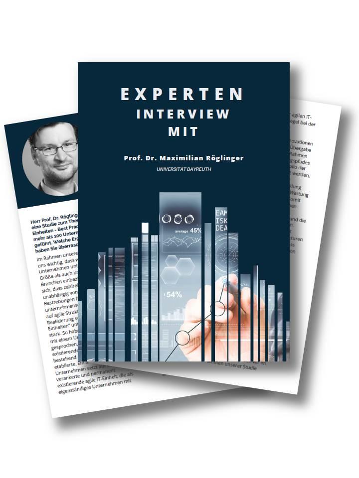 Q&A mit Prof. Dr. Röglinger über agile Methoden in unternehmenseigenen IT-Abteilungen
