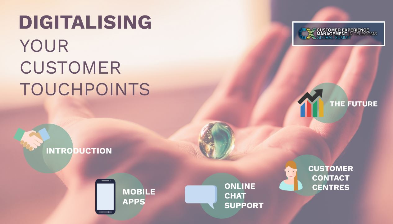 Interactive Presentation: Digitalising Your Customer Touchpoints