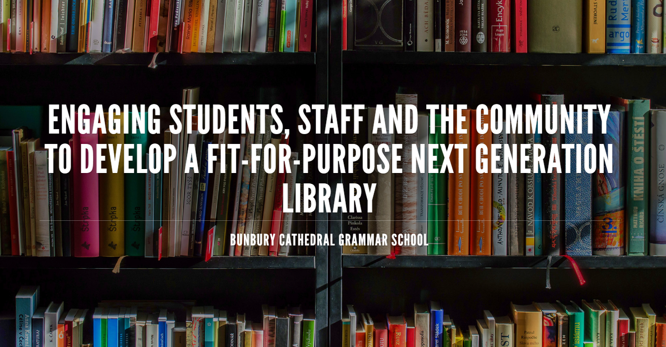 Engaging Students, Staff and the Community to Develop a Fit-for-Purpose Next Generation Library