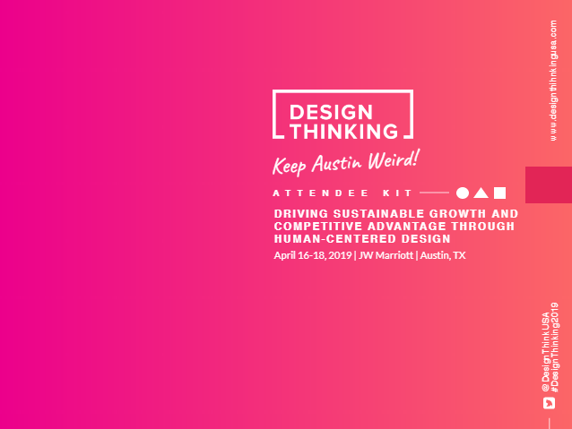 2019 Design Thinking Attendee Kit