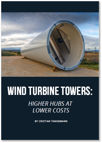 Expert Article on Wind Turbine Towers: Higher Hubs at Lower Costs