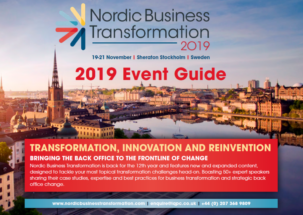 Nordic Business Transformation Agenda