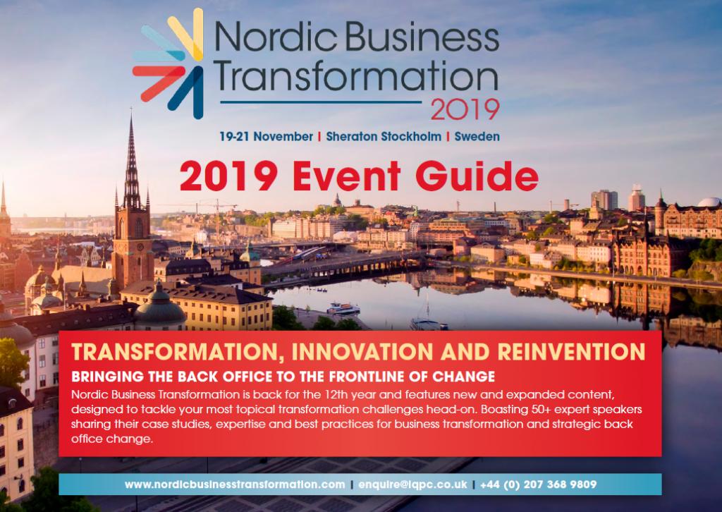 Nordic Business Transformation Agenda