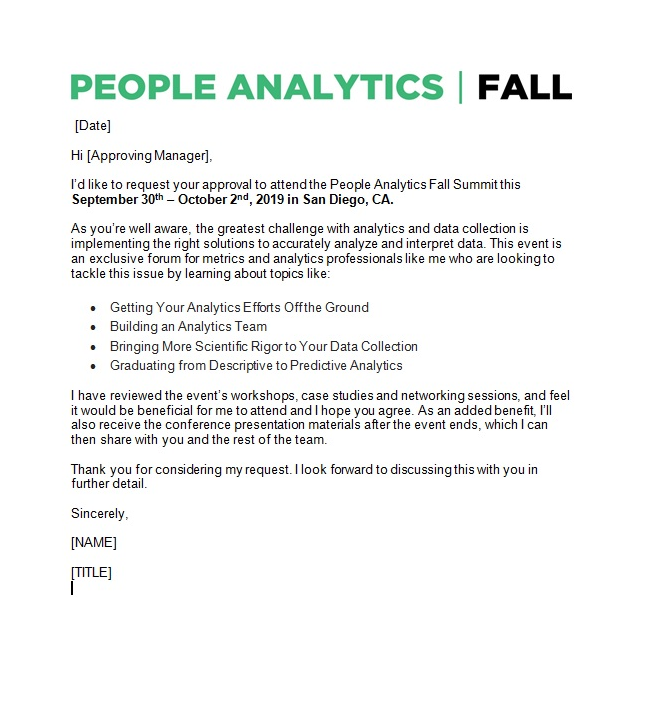 Justify Your Trip to the People Analytics Summit